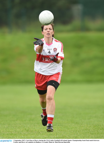 Carlow v Derry - TG4 Ladies Football All Ireland Junior Championship Semi-Final