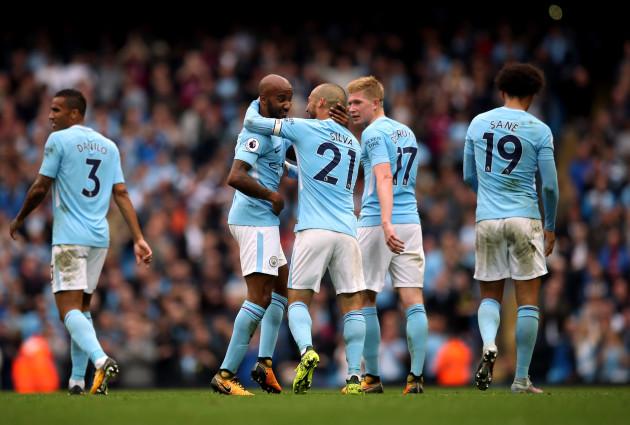Manchester City v Crystal Palace - Premier League - Etihad Stadium