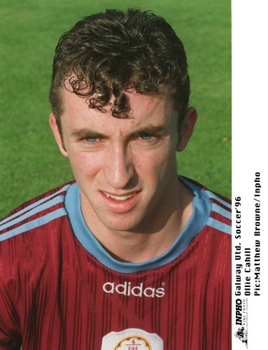 Ollie Cahill Galway United Soccer 1996