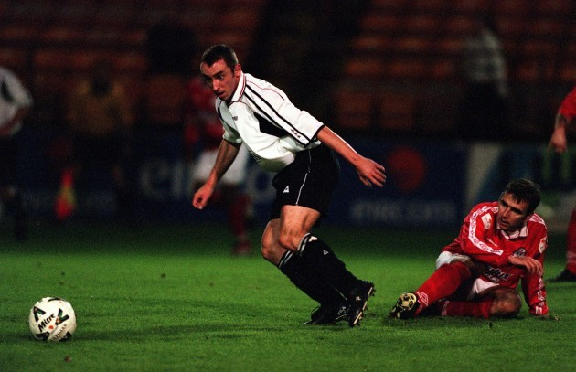 Pat Fenlon and Ollie Cahill 27/10/2000