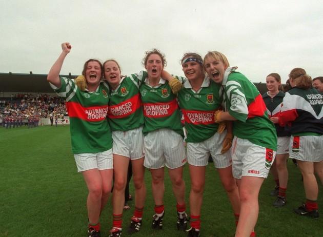 Mayo team celebrate 4/9/1999