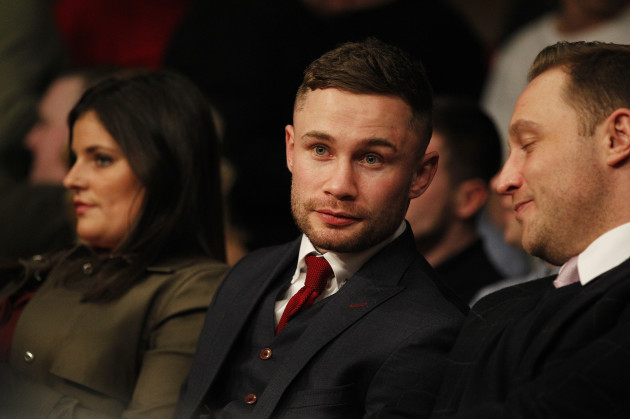 Carl Frampton reveals promotional agreement with Frank Warren