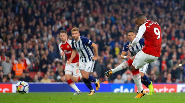 Arsenal v West Bromwich Albion - Premier League - Emirates Stadium