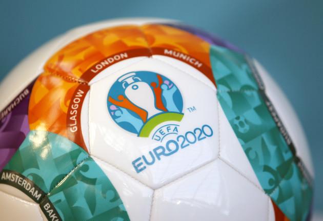 UEFA Euro 2020 Logo Launch - Glasgow Science Centre