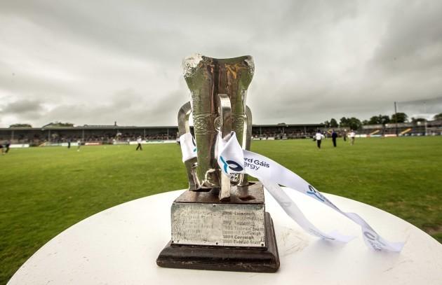 General view of the Munster U21 Hurling trophy