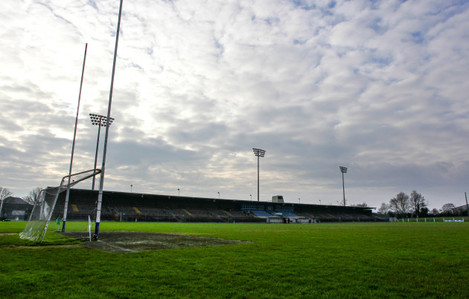 A general view of the Fraher Field before the game