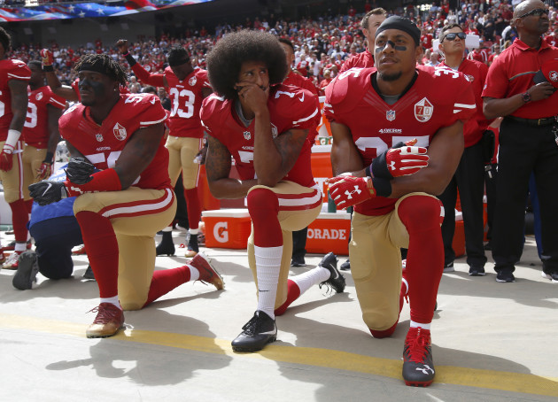 NFL's Colin Kaepernick National Anthem Protests