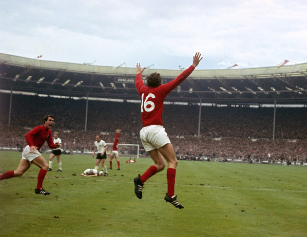 England v West Germany - 1966 World Cup Final - Wembley Stadium