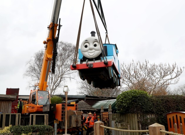 Thomas The Tank Engine leaves Drusillas