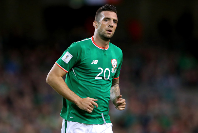 Sean Maguire and Scott Hogan in Ireland's final World Cup qualifier squad