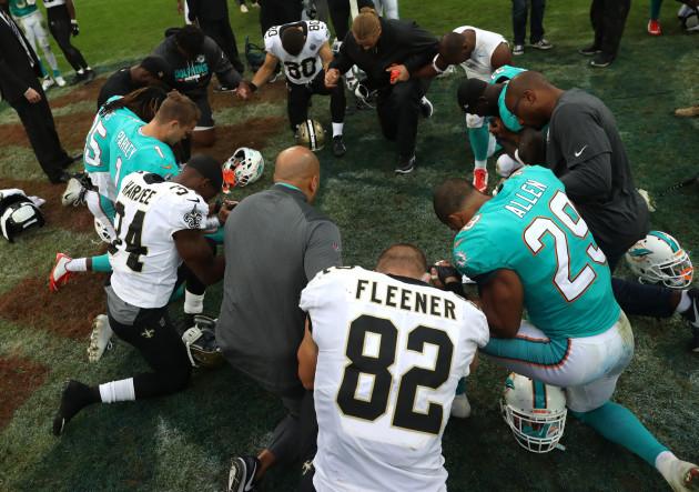 Miami Dolphins v New Orleans Saints - NFL International Series - Wembley Stadium