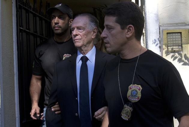 Brazil Nuzman Arrested