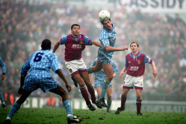 Soccer - FA Premier League - Aston Villa v Coventry City - Villa Park