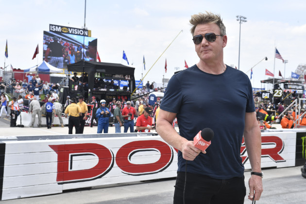 6/4/2017 - Dover: Gordon Ramsay at the Monster Energy NASCAR Cup Series AAA 400 Drive for Autism