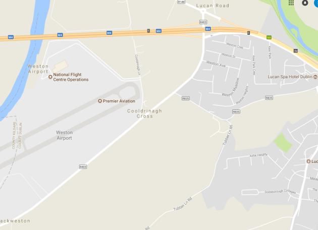 weston airport