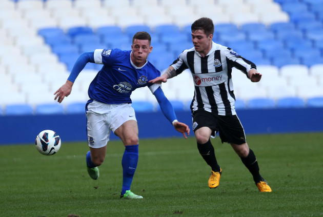 Soccer - Professional Development League One - Knockout Stage - Play-Off - Everton Under 21's v Newcastle United Under 21's - Goodison Park