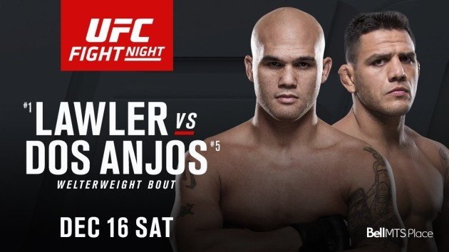 Lawler, dos Anjos to headline UFC Winnipeg