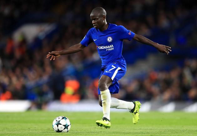 Chelsea v Qarabag - UEFA Champions League - Group C - Stamford Bridge
