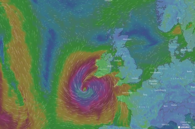 Hurricane Ophelia strengthens to Category 2 storm, NHC says