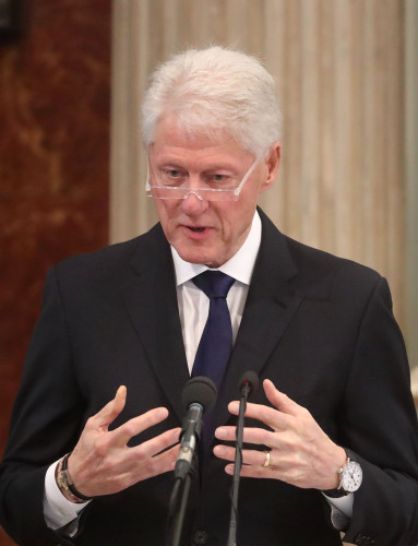 Bill Clinton visit to Northern Ireland