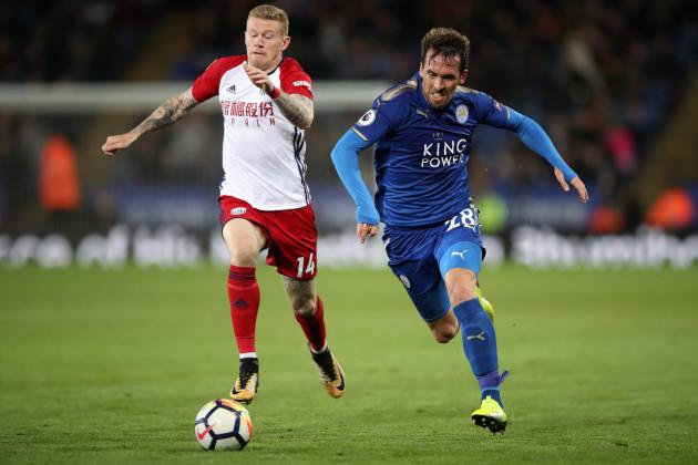 Leicester City v West Bromwich Albion - Premier League - King Power Stadium