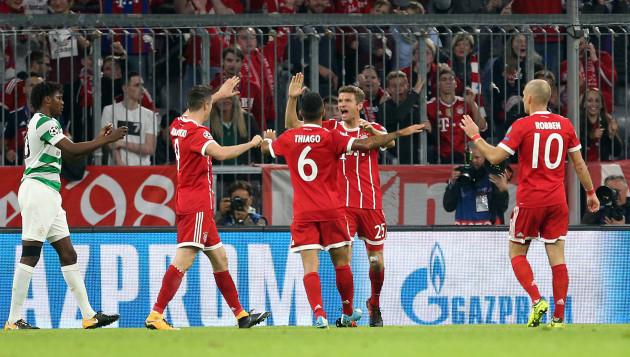 Bayern Munich v Celtic - UEFA Champions League - Group B - Allianz Arena