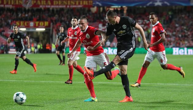 Benfica v Manchester United - UEFA Champions League - Group A - Estadio da Luz