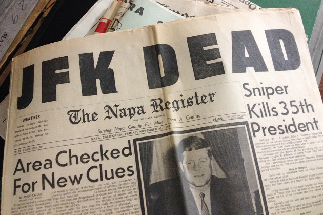 JFK Assassination Files Due To Be Released