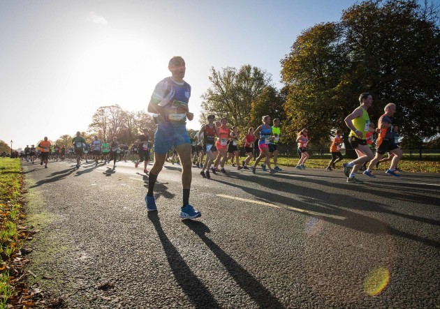 The marathon passes through The Phoenix Park