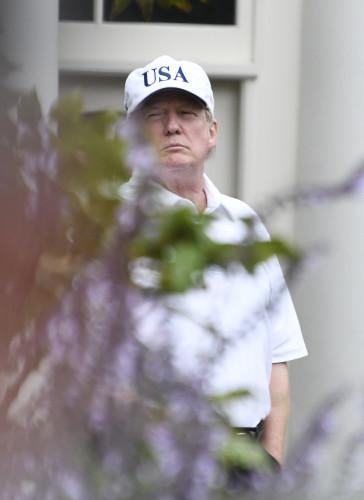 Trump Following Golf