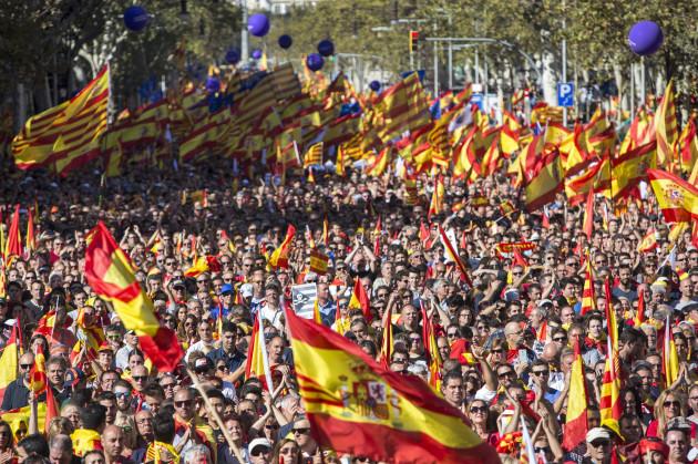 Pro-Unity Rally - Barcelona