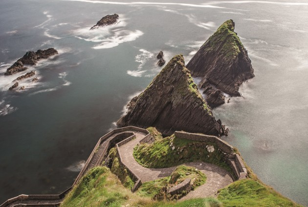 Dunquin - 'twists and turns down to Dunquin Pier'