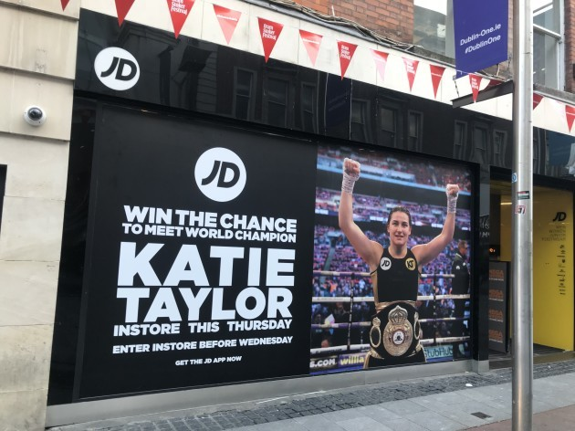 JD Mary Street Store front