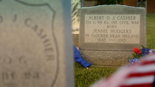 JENNIE HODGERS Headstone- credit -Snag Breac Films0