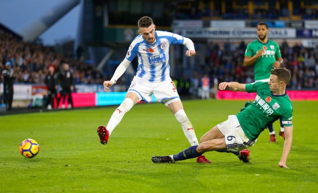 Huddersfield Town v West Bromwich Albion - Premier League - John Smiths Stadium