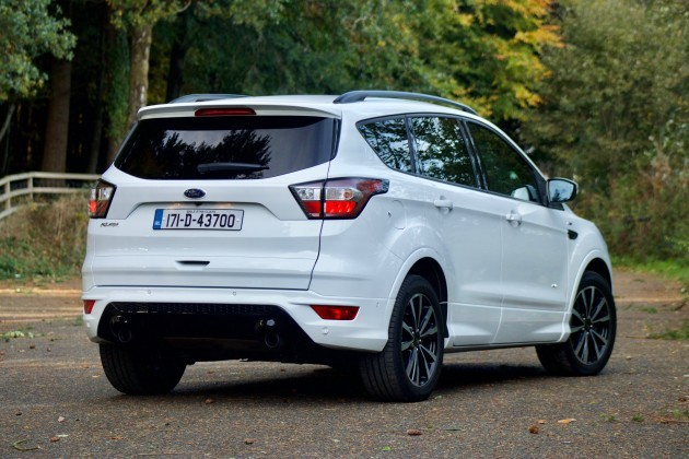 review the ford kuga st line is a great suv for families even older ones. Black Bedroom Furniture Sets. Home Design Ideas