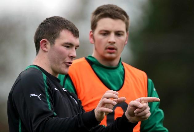 Peter O'Mahony and Iain Henderson