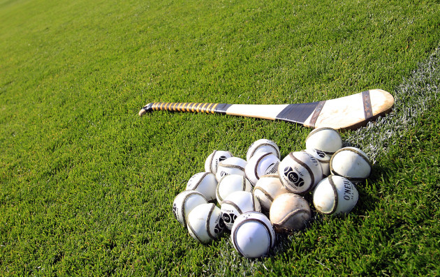 A general view of hurley and sliotar's