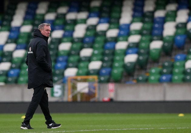 Northern Ireland Training and Press Conference - Windsor Park