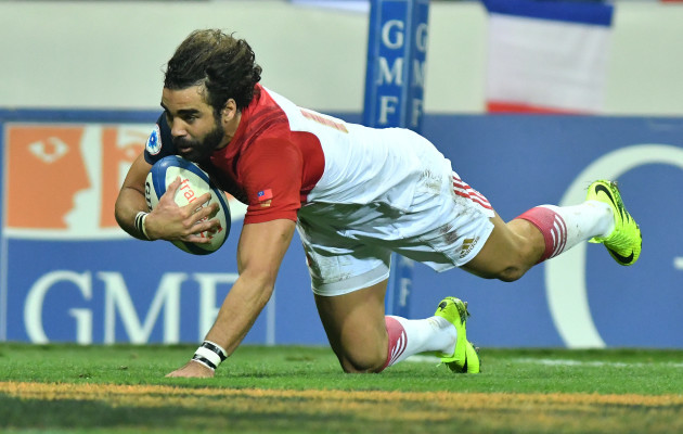 Rugby International Test match between France and Samoa - Toulouse