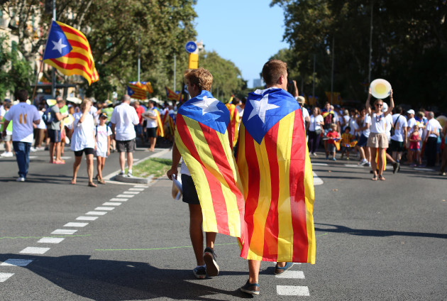 Catalonia National Day - Barcelona
