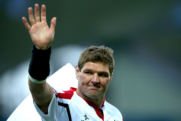 Johann Muller after the game