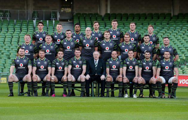 Ireland Rugby team photo