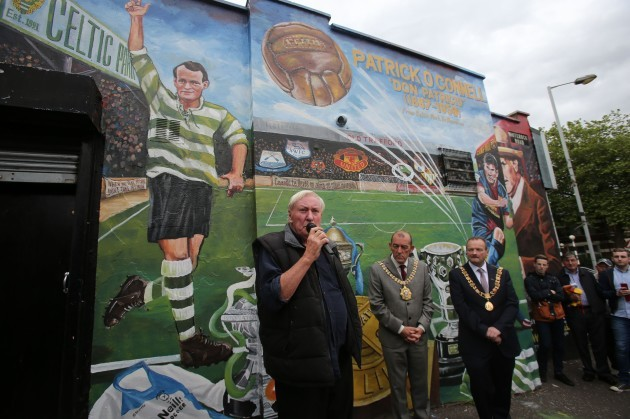 Patrick O'Connell mural