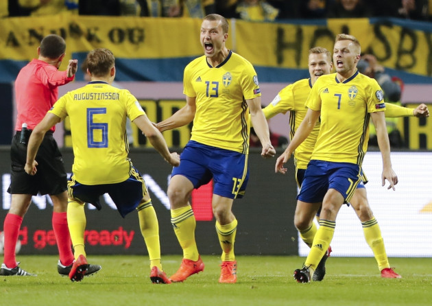 Soccer WCup 2018 Sweden Italy