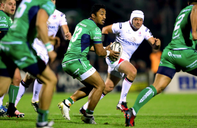 Bundee Aki and Rory Best