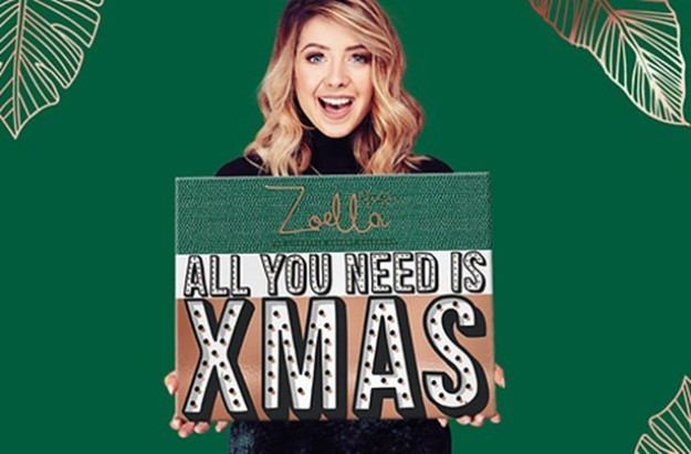 zoella christmas advent calendar contents