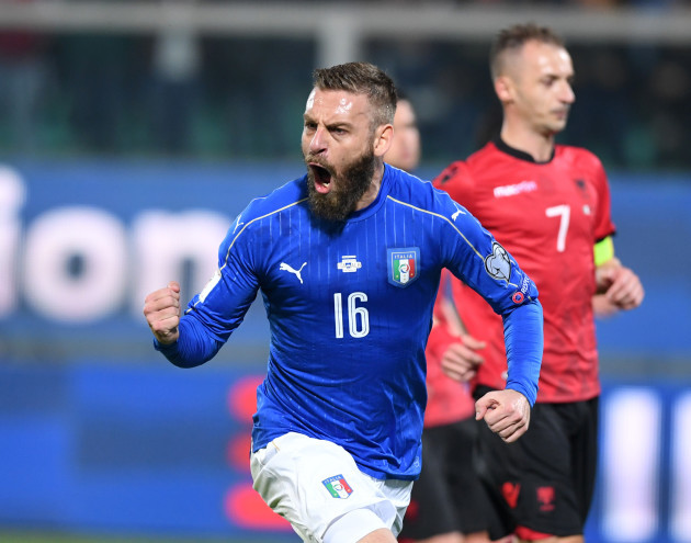 (SP)ITALY-PALERMO-FOOTBALL-FIFA WORLD CUP QUALIFIER-ITALY VS ALBANIA