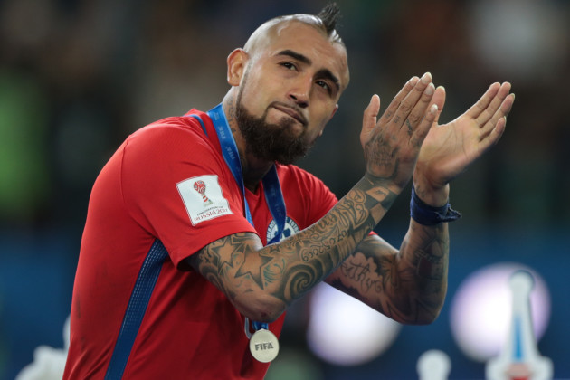 Russia: Chile v Germany: Final - FIFA Confederations Cup Russia 2017