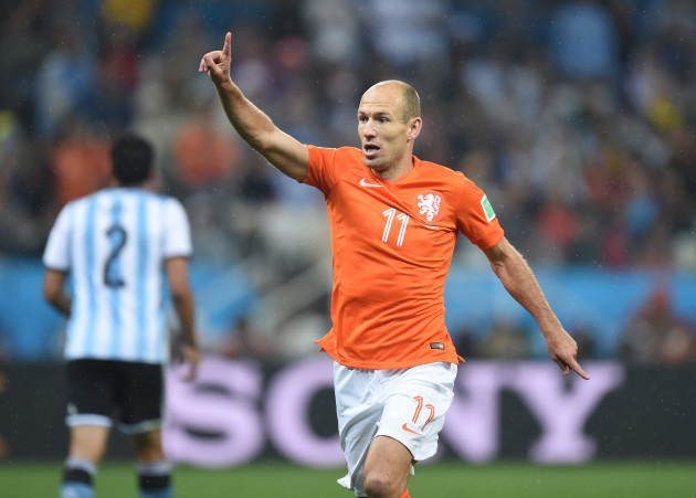 World Cup 2014 - Semi final - Netherlands vs Argentina